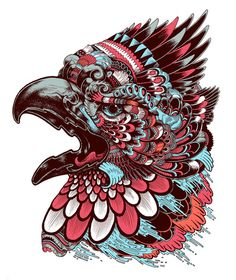 Eagle Head done for be-street magazine   by Iain Macarthur