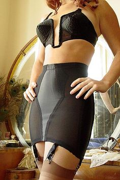 Rago satin panel girdle