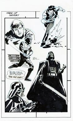 Star Wars warm-up sketches by Bruce Timm ✤ || CHARACTER DESIGN REFERENCES | キャラクターデザイン • Find more at https://www.facebook.com/CharacterDesignReferences if you're looking for: #lineart #art #character #design #illustration #expressions #best #animation #drawing #archive #library #reference #anatomy #traditional #sketch #development #artist #pose #settei #gestures #how #to #tutorial #comics #conceptart #modelsheet #cartoon || ✤