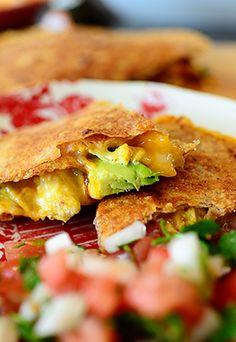 mmm breakfast quesadillas by The Pioneer Woman