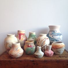 So many new #nemadji pottery pieces #potterylove #instacollection (at Demimonde Shop)