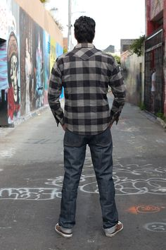 Roy Jean RS04 - Cone Project - Straight Leg - Self Edge : Japanese Selvedge Denim