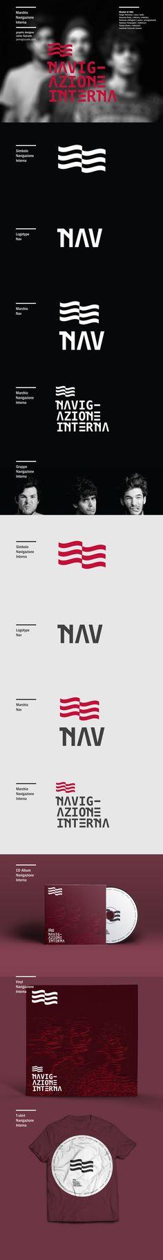 NAV / Logo Music on Behance