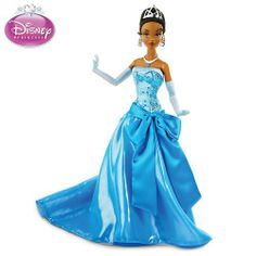 "Disney ""Princess Tiana In Blue Ballgown"" Articulated Fashion Doll « Game Searches"