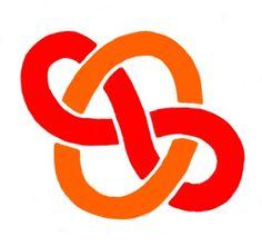 Pleasing logo version of simple entangling