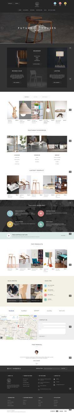 Web Design / furnitu