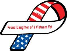 Proud daughter of a Vietnam Vet...LOVE!!