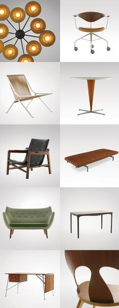 Mid-century modern era of Danish furniture design