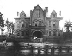 Calhoun County Courthouse, 1906