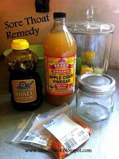 All natural diy home sore throat remedy organic