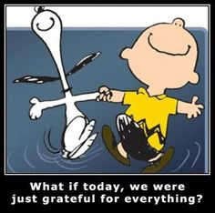 Charlie Brown and Snoopy .
