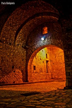 Ioannina Castle entrance, Greece