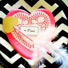 Coombs' Valentine Bash 2014! Place settings, games and favors from Marci Coombs' Blog