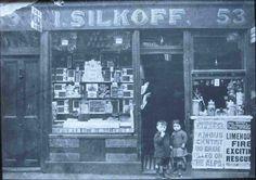 Isaac Silkoff, 53 Brick Lane, c 1911