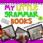 *Download the preview for a FREE lower level verb book!  These 122 little grammar books are easy to use and so much fun to complete! There are 3 or...