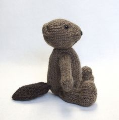 Ravelry: Beaver with Sweater Coat pattern by Barbara Prime