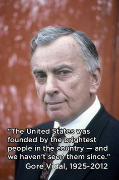 Great Quotes From Gore Vidal