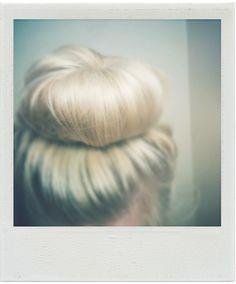 Sock Bun #bun #hair #sock