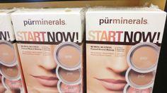 Pür Minerals makeup.