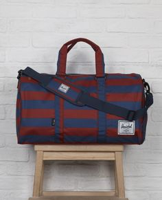 men essenti, fashion, novel holdal, cloth, accessori, herschel, men flat, bags, stripe