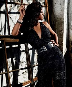 Michelle Rodriguez in InStyle Russia Magazine | Tom & Lorenzo