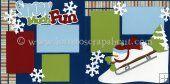 christma scrapbook, scrapbook idea, scrapbook pages, fun scrapbook