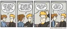 PHD Comics: What do you want to be?