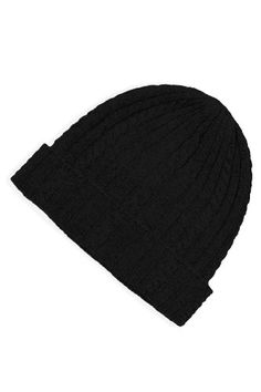 100% Pure Cashmere Cable Knit Hat, Super Soft - Listing price: $49.00 Now: $38.99