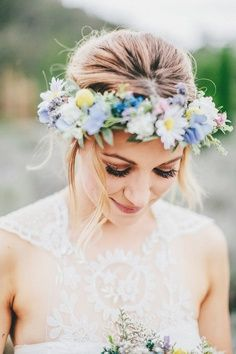 Is there anything more ethereally beautiful than a flower crown?