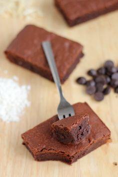 Chocolate rum brownies