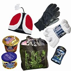 Suggested items for the gift bags to help the homeless.