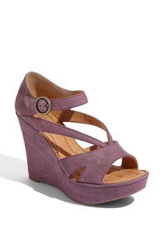 purple wedge