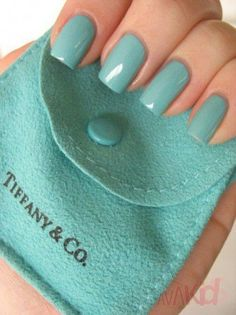 Tiffany blue..