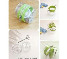 Upcycle plastic bottles
