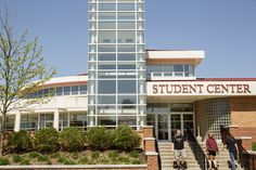 The #Alvernia Student Center houses the main dining hall, the Admissions office and Public Safety office.