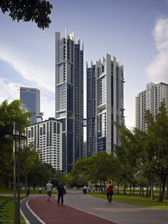 Troika by Foster & Partners in Kuala Lumpur