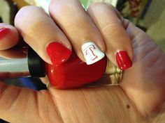 Texas Rangers baseball nails!