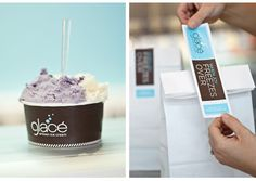 Glacé Artisan Ice Cream | Identity Designed