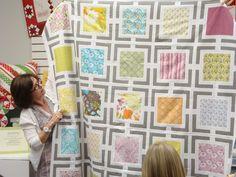 modern quilt block pattern