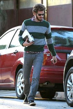 Andrew Garfield in Silver Lake | Tom & Lorenzo