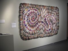 I've always been a fan of Helen Giddens's Rattlesnake Quilt. Purchased by Bob and Ardis James for their collection, this quilt now resides at the International Quilt Study Center & Museum in Lincoln, Nebraska.