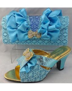 Shoes with matching bags TSH1048