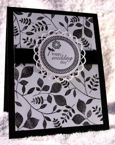Tarjeta de invitacion en blanco y negro | black and white wedding card