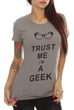 Trust me, I'm a Geek