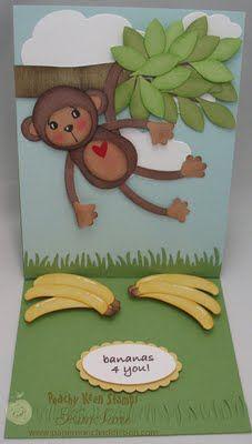 monkey punch art tutorial designed by Kim Score