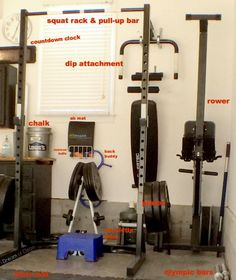 Setting up a Crossfit garage gym at home is easier than you might think! Click to see the setup at this guy's house...