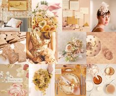 Champagne and blush wedding colors