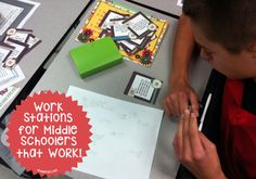 Work Stations for Middle Schoolers That Work