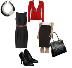 Great Business Professional outfit for work (once you've gotten the job!)