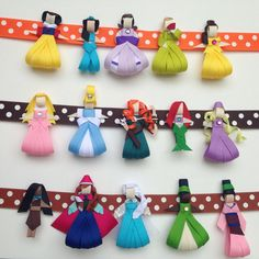 Princess Ribbon Sculpture Collection by www.facebook.com/babybugwear
